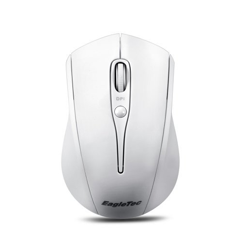 EagleTec MG001 2.4GHz Wireless (kabellose) 9-Tasten Gaming Maus mit anpassbarer DPI Einstellung (DPI 800, 1200, 1600, 2000, 2400) (MG001)