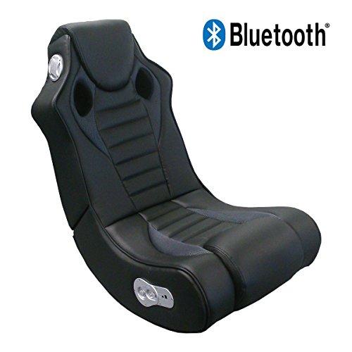 Lifestyle For Home Soundsessel Speedy Bluetooth Gaming Chair Spiel Sessel Multimediasessel schwarz