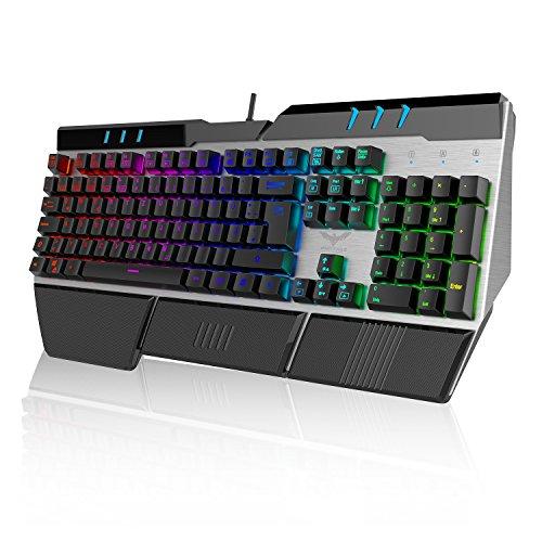 Victorist Mechanische Gaming Tastatur und Maus Set (Tastatur)